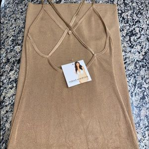 Champagne stretch midi